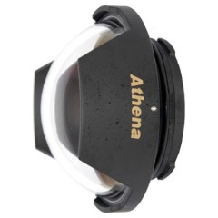 Athena Optical Dome Port F100 for Pnansonic LUMIX G FISHEYE 8mm f/3.5 Lens (Olympus EP Mount)
