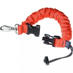 Cetacea Stainless Coil-Lanyard with Cord & Lock