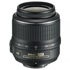 Nikon AF-S DX Zoom-Nikkor 18-55mm f/3.5-5.6G VR (3.0x) Lens