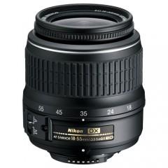 Nikon AF-S DX Zoom-Nikkor 18-55mm f/3.5-5.6G ED II (3.0x) Lens
