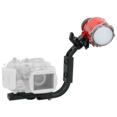 INON S-2000 Strobe and Grip Base D4 Set for Compact Digital Housing