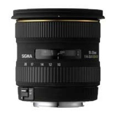 Sigma Super wide-angle zoom 10-20mm F4-5.6 EX DC /HSM Lens for Nikon