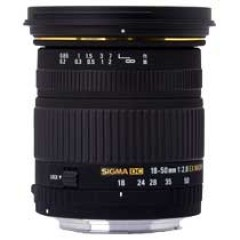 Sigma 18-50mm F2.8 EX DC Macro /HSM Lens for Nikon
