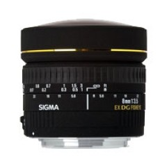 Sigma 8mm F3.5 EX DC Circular Fisheye Lens for Canon