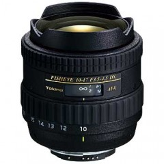 Tokina AT-X 107 DX Fisheye AF 10-17mm f/3.5-4.5 Lens for Nikon