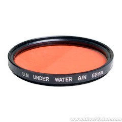 Deeproof Red Color Correction Filter for 52mm Thread