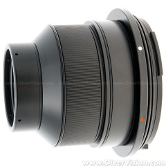 Athena Flat Port with M67 Threaded for Nikon AF-S VR 105mm f/2.8G IF-ED Lens