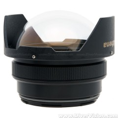 Athena Optical Dome Port F100II for Olympus M.ZUIKO DIGITAL ED 8mm Fisheye PRO Lens (Nuaitcam N85 Mount)