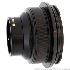 Athena Flat Port with M67 Threaded for Nikon AF-S Micro-Nikkor 60mm f/2.8G ED Lens