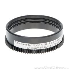 Deeproof Zoom Gear for Nikon Ai AF-S Zoom Nikkor ED 17-35mm F2.8D Lens on Sea&Sea Housings