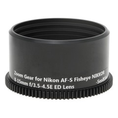 Deeproof Zoom Gear for Nikon AF-S Fisheye NIKKOR 8-15mm f/3.5-4.5E ED Lens on Sea&Sea Housings