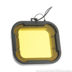 Howshot Yellow Color Correction Filter for GoPro HERO3+ / HERO4 Housing
