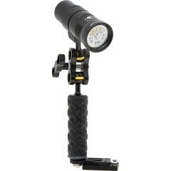 Howshot 2400lm LED Flashlight with Right Arm Set