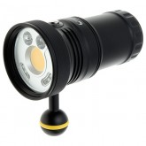 Howshot 5000lm LED Video / Photo / Red / UV  Flashlight