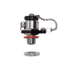 Ikelite Vacuum Valve for Accessory Port 1/2 Inch Holes