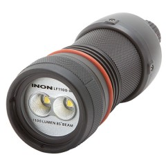 INON LF1100-W LED Flashlight (1100/300 Lumen, 85° Wide Beam)