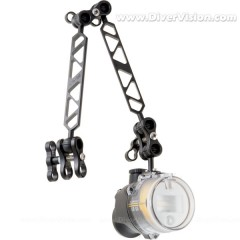 SEA & SEA YS-D2 Strobe and Ultralight Arm Set Package