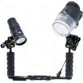SEA & SEA YS-D2 & Howshot 2400lm Light with Arm Set Package