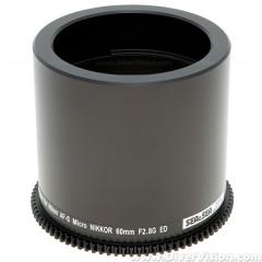 SEA & SEA Focus Gear for Nikon AF-S Micro-Nikkor 60mm f/2.8G ED Lens