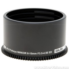 SEA & SEA Zoom Gear for Nikon AF-S Fisheye NIKKOR 8-15mm Lens