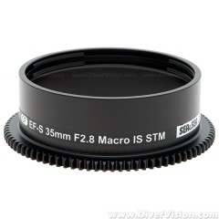 SEA & SEA Focus Gear for Canon EF-S 35mm F2.8 Macro IS STM Lens